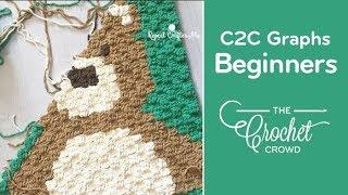 Video How To Crochet Corner to Corner (C2C) Graphghans for Beginners MP3, 3GP, MP4, WEBM, AVI, FLV Juli 2018