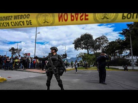 Kolumbien: Tote bei Anschlag auf Polizeischule in Bog ...