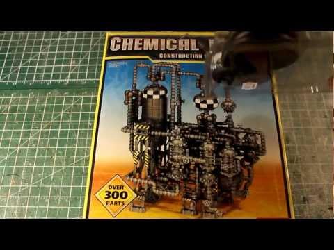 Unboxing: Pegasus Hobbies Chemical Plant