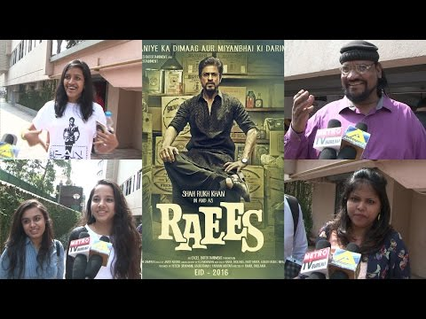 Raees Public Review | Shah Rukh Khan | Mahira Khan | Nawazuddin Siddiqui