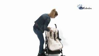 Altabebe Sommerfußsack für Kinderwagen AL2200 – Video-Anleitung