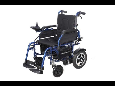 Wheelchair88 . PW-777LC . Economical Power Wheelchair