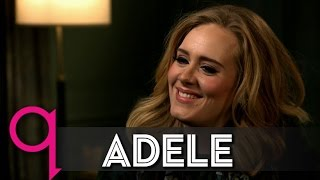 Adele opens up about