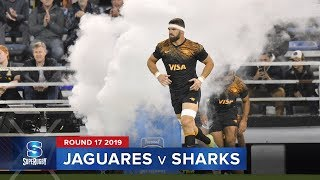 Jaguares v Sharks Rd.17 2019 Super rugby video highlights | Super Rugby Video Highlights