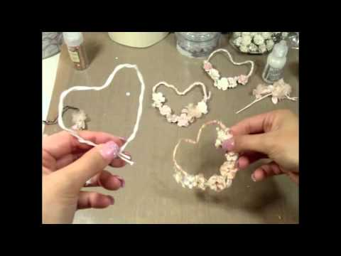 Shabby Chic Hearts How To