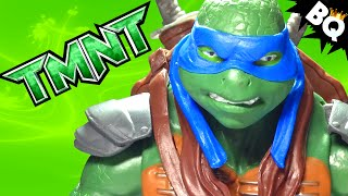 "2014 Ninja Turtles Leonardo 12"" TMNT Movie Action Figure Review"