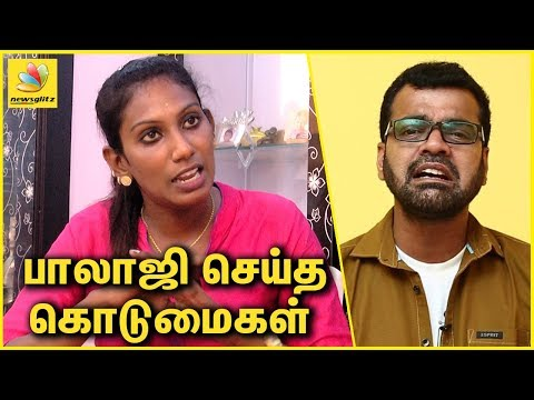 Nithya | Thadi Balaji Wife Interview