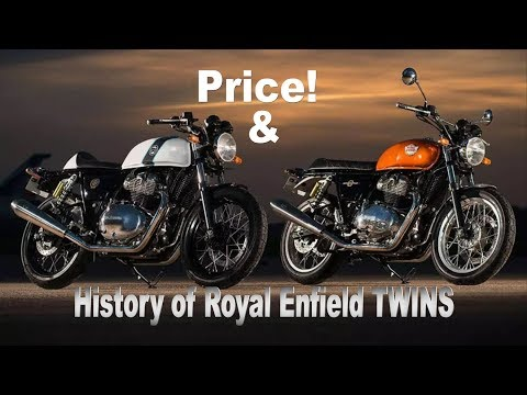 PRICE OF ROYAL ENFIELD INTERCEPTOR 650 & CONTINENTAL GT 650 IN INDIA REVEALED?