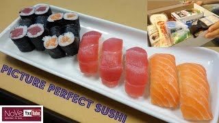 Perfectly Made Sushi Using A Sushi Kit - How To Make Sushi Series by Diaries of a Master Sushi Chef