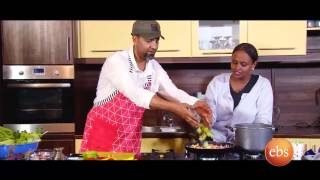 Giordana's kitchen show with cook Behayilu