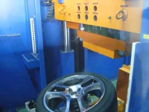 Проверка прочности диска WSP Italy W255 MARS MITO на удар спицы (Alfa Romeo)