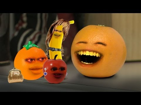 N' - Orange meets a group of fake...er, I mean, REAL fruits. VOTE AND ENTER MY TSHIRT CONTEST: http://on.fb.me/omPFXS FREE version of my video game Kitchen Carnage: iTunes: http://bit.ly/AOKitchenCarn...
