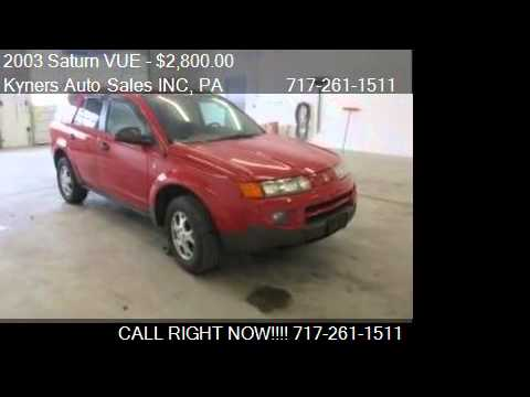 2003 Saturn VUE NoName for sale in Chambersburg, PA 17202 at