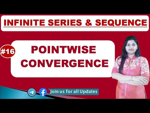 Pointwise Convergence With Various  Examples In Hindi..