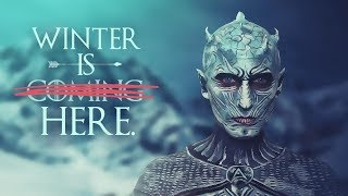 Welcome to my Night King White Walker makeup tutorial ! This is the most challenging makeup I have done so far... and I'm quite...