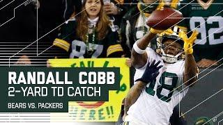 Randall Cobb Makes an Incredible TD Grab!   Bears vs. Packers   NFL by NFL