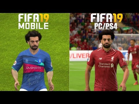 FIFA 19 PC/PS4/XBOX Vs FIFA 19 Mobile (Gameplay)