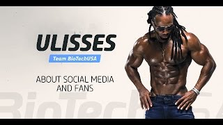 Ulisses about social media and fans