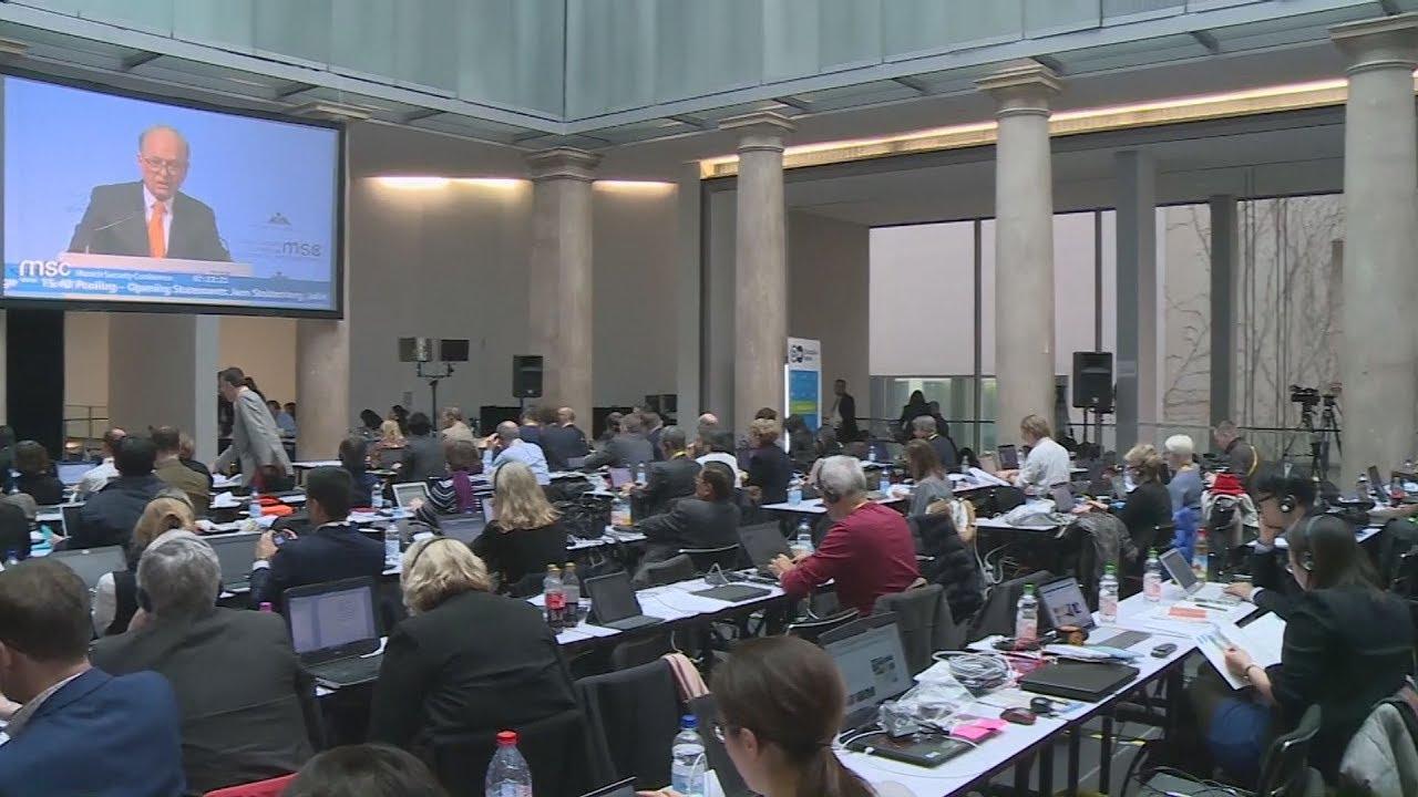 Πλάνα από τη Διάσκεψη Ασφαλείας του Μονάχου 2018
