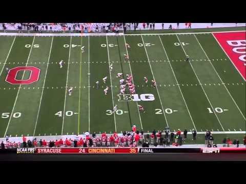 Terry Hawthorne vs Ohio St. 2012 video.