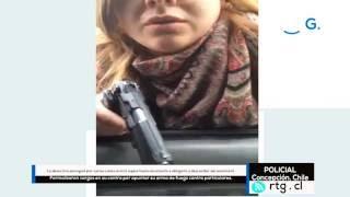 Video Funcionaria PDI que amenazó con arma a hombre que la chocó fue formalizada - [Chile - Policial] MP3, 3GP, MP4, WEBM, AVI, FLV Desember 2017