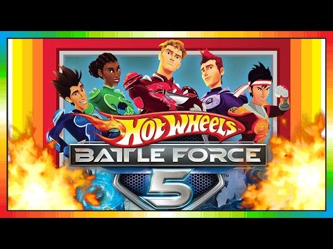 Hot Wheels : Battle Force 5 Wii