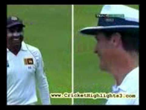 Tillakaratne Dilshan discovers Newton's Law of Gravity