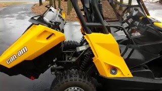 10. 2013  Can am Commander Electric Ebay NO RESERVE