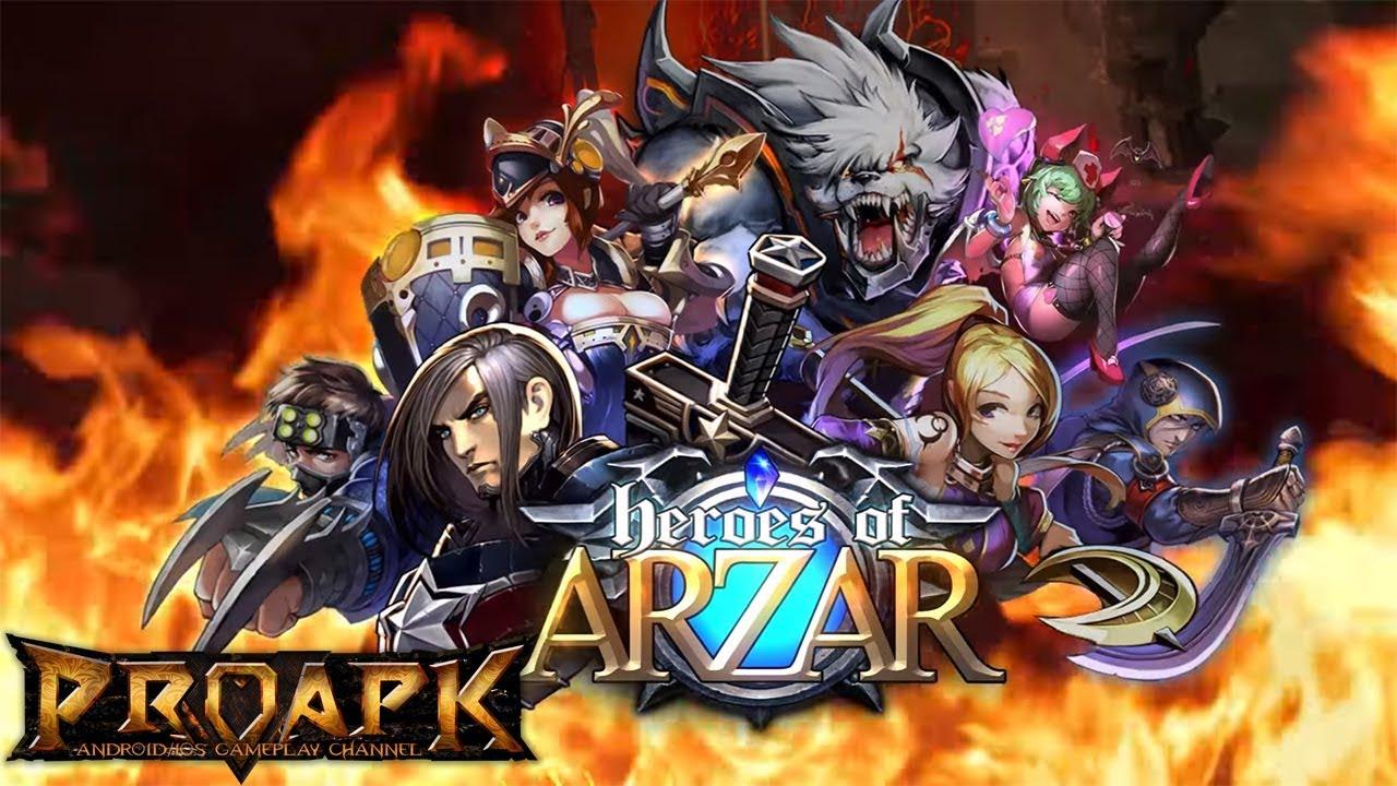 LINE Heroes of Arzar