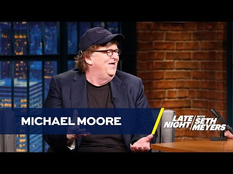 Michael Moore Took His Entire Broadway Show Audience to Protest Trump