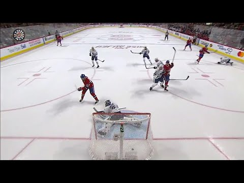 Video: Drouin scores first goal as a Canadien with perfect deflection