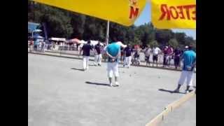 Tournefeuille France  city pictures gallery : Vidéos du Championnat de France Triplette Provençal à Tournefeuille du 15 au 17 Juin 2012.