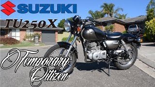 3. Suzuki Tu250x Review - Best First Bike??