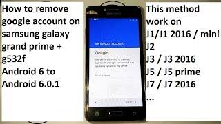 Video remove frp lock samsung j1 j2 j3 j5 j7 grand prime mini last security 2018 Android 6 MP3, 3GP, MP4, WEBM, AVI, FLV September 2019