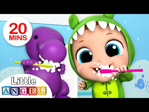 Yes Yes Bedtime Song | Brush Your Teeth | Nursery Rhymes by Little Angel - Thời lượng: 20 phút.