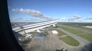 Arlanda Sweden  city images : Airbus A319 Approach and Landing, Arlanda Airport, Stockholm, Sweden - Full HD, 60 fps
