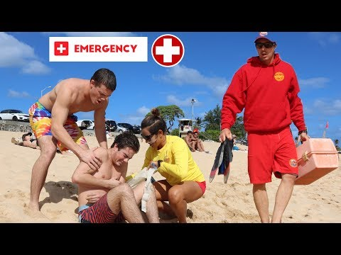 HORRIBLE INJURY/FAIL IN HAWAII!! HARD TO WATCH  **NEEDS SURGERY**