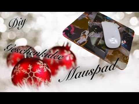 [DIY] MOUSEPAD ⎟FOTO AUF MAUSPAD⎟X-MAS GESCHENKIDEE⎟SIMPLE DIY⎟TUTORIAL⎟HOW TO