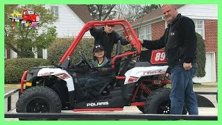 8. Buying A Polaris Ace 150 for Kruz's Early 6th Birthday Present in Hamilton Alabama
