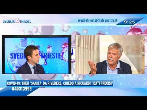 14/09/2020 - COVID-19: TREU 'SANITA' DA RIVEDERE, CHIEDO A RICCARDI I DATI PRECISI SUI CONTAGI'
