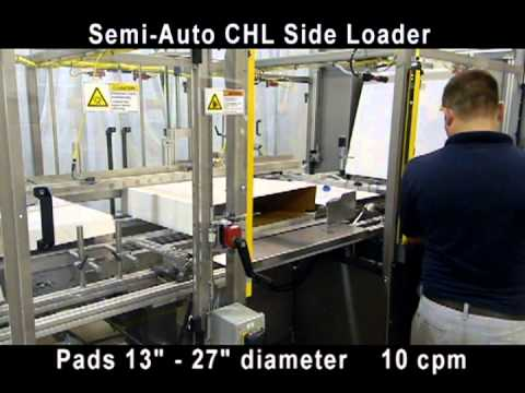 CHL Semi-Automatic Side Loading Floor Pads