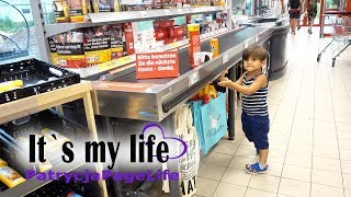 EIN 2 JÄHRIGER GEHT EINKAUFEN | SELIN WIRD IN KITA GEÄRGERT  - It's my life #933 | PatrycjaPageLife Video