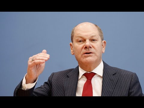 Vizekanzler Olaf Scholz (SPD) sieht Konjunkturgefahren