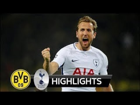 BORUSSIA DORTMUND Vs TOTTENHAM 1-2 | All Goals & Extended Highlights | Champions League- HD