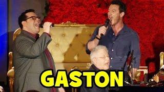 "Video Luke Evans & Josh Gad Sing ""GASTON"" Live at Beauty and the Beast Press Conference MP3, 3GP, MP4, WEBM, AVI, FLV Agustus 2017"