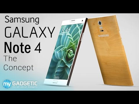 edition - Ditching the Cheap Plastic, this is new Concept of Samsung Galaxy Note 4 is built using premium Ceramic and Bamboo Materials. While also sporting the latest tech like heart rate monitor to...