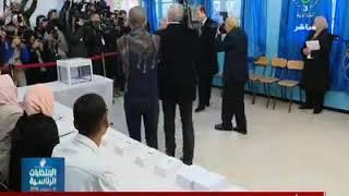 Le chef de l'État Abdelkader Bensalah accompli son devoir éle