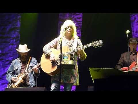 Emmylou Harris with Daniel Lanois at the Greenbelt Harvest Picnic 31 Aug 2013