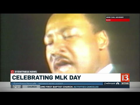 Martin Luther King Jr. Day celebrated in Indianapolis