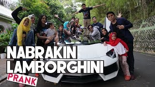 Video NABRAKIN LAMBORGHINI Raffi Ahmad (PRANK) MP3, 3GP, MP4, WEBM, AVI, FLV Maret 2018